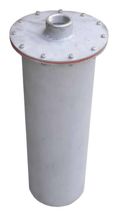 Ozone Destruct Unit that can handle 3000 LPM in wet applications and 600 LPM in dry applications