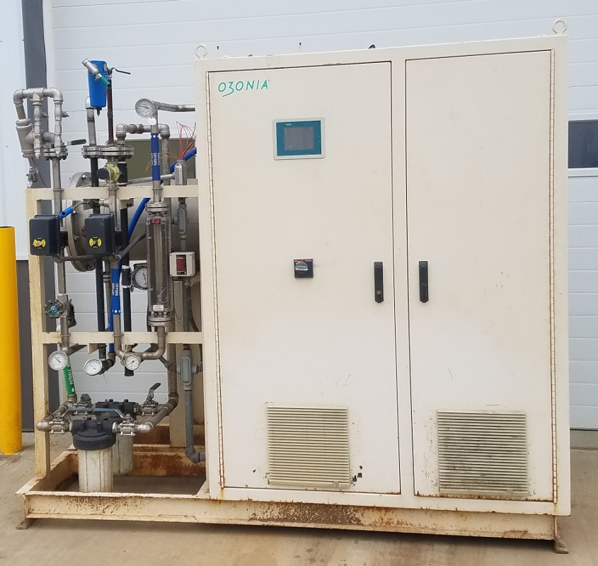 Used ozone equipment