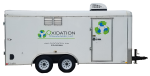 Ozone trailer for remediation