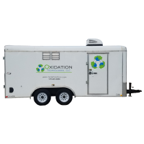 12 lb/day ozone trailer for rent