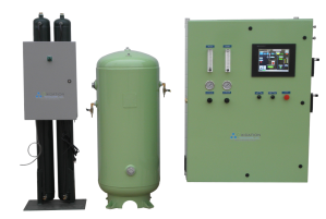 ORK Module System Components - Oxygen Concentrator, Storage Tank and Ozone System