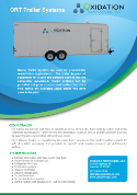 ORT-Series Ozone Trailer Systems