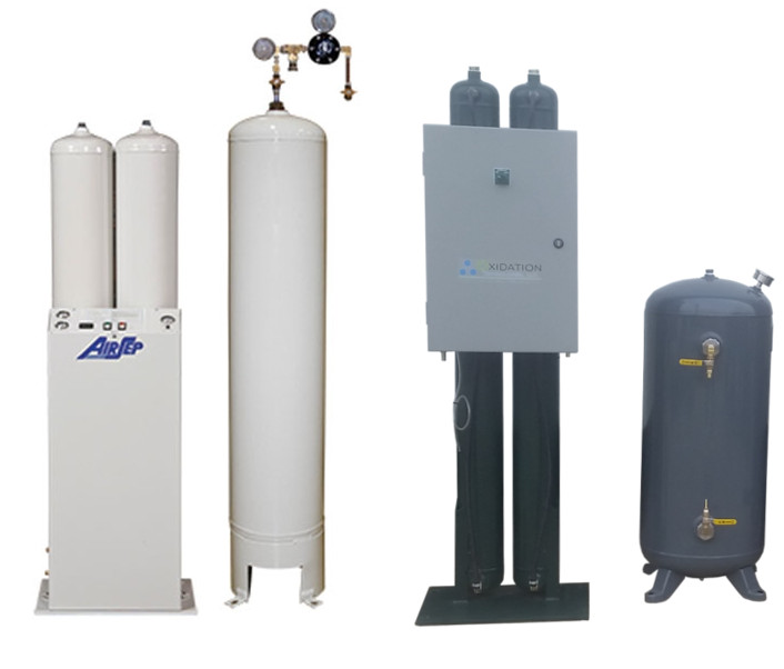 Industrial oxygen generators from Airsetp and OGSI