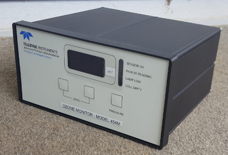 M454 Ozone analyzer calibration