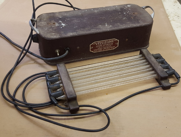 Antique Vitozone Ozone Generator repair