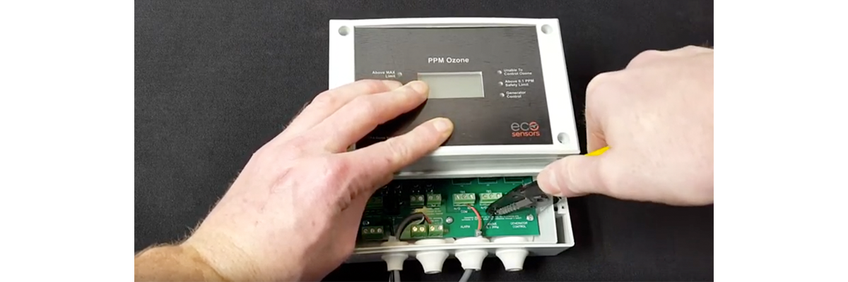 How to Wire OS-6 Ozone Monitor to Remote Alarm Panel for O3 Safety Monitoring
