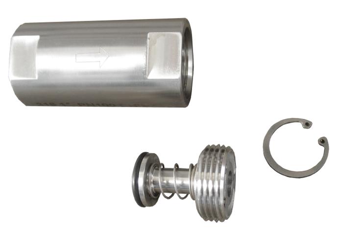 Ozone resistant check valve