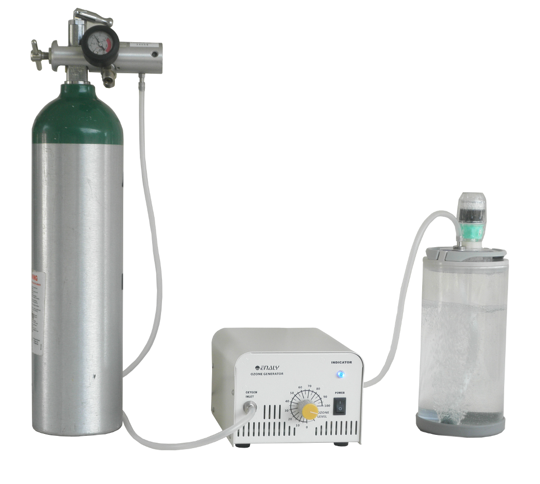 Ozonate water with Ozone Chamber