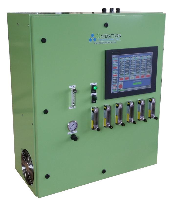 ozone groundwater remediation system cabinet