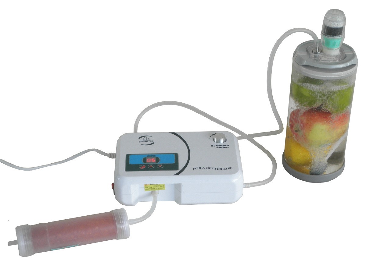 Treat fruit with Ozone using the Ozone Chamber and Ozone Generator