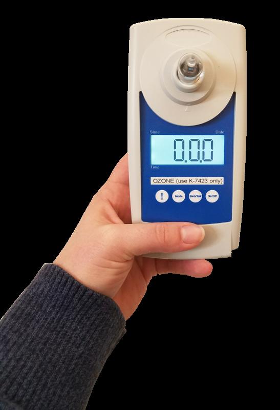 Dissolved ozone calibration kit