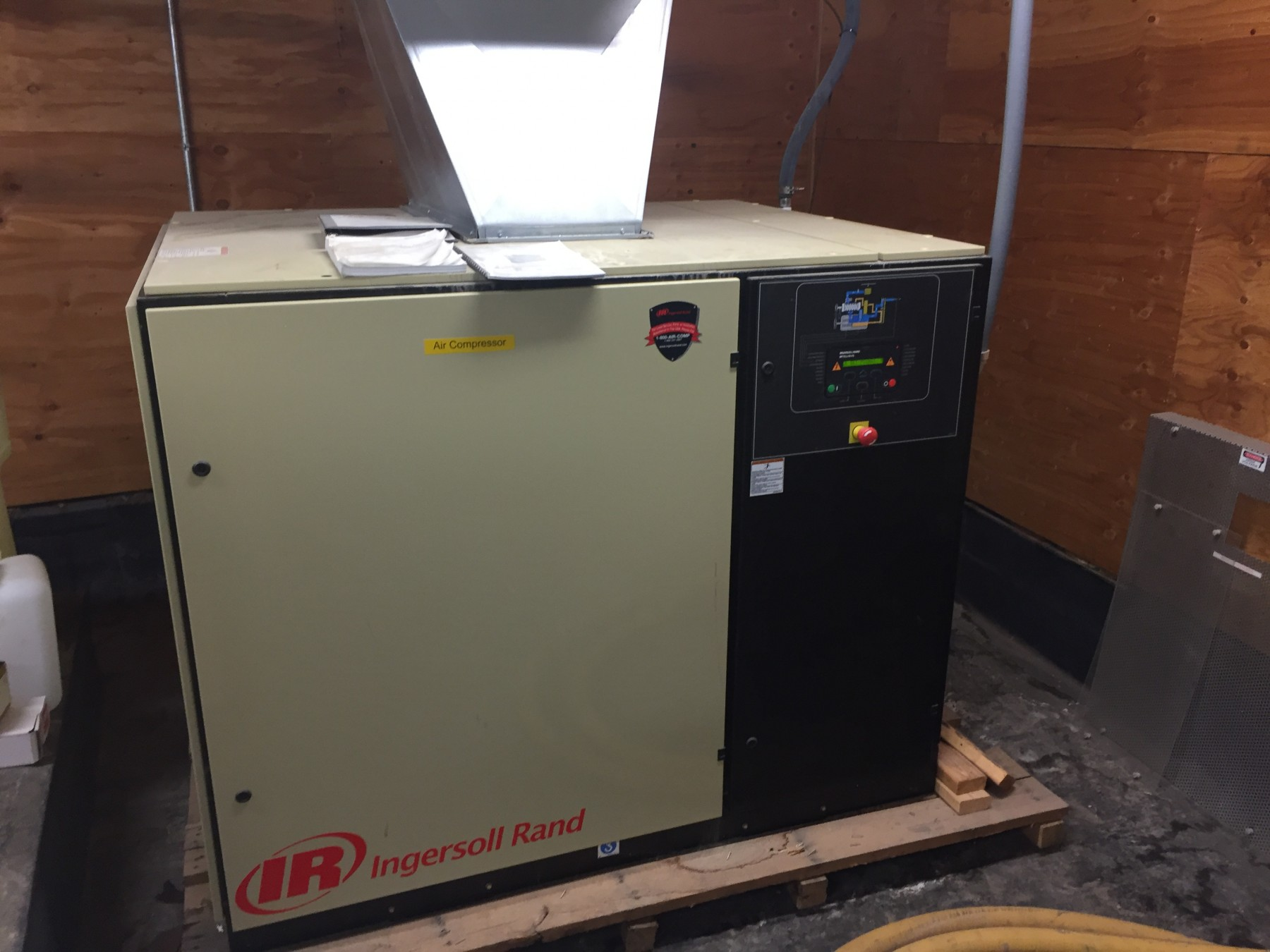50 HP rotary screw compressor for oxygen production