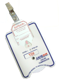 Ozone badge for o3 detection