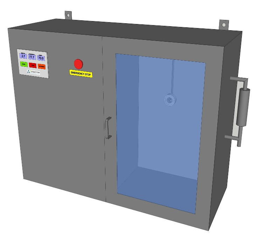 Ozone testing chamber
