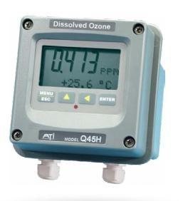 Inline dissolved ozone meter Q45H