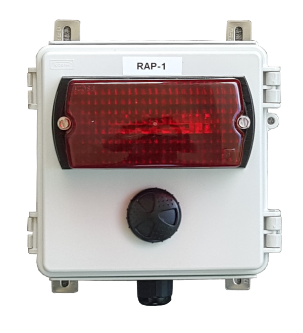 RAP-1 Aucible and Visual Alarm Panel