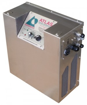 Ozone generator for groundwater remediation