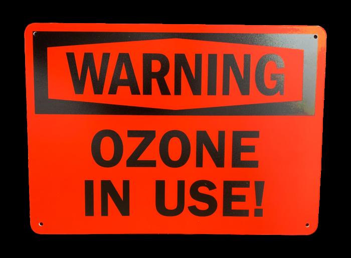 Ozone Warning Sign  10x14