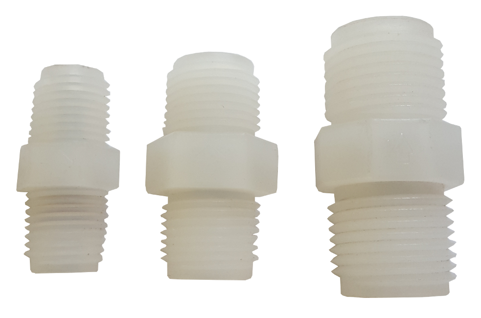 CV Check valves in 3 different sizes