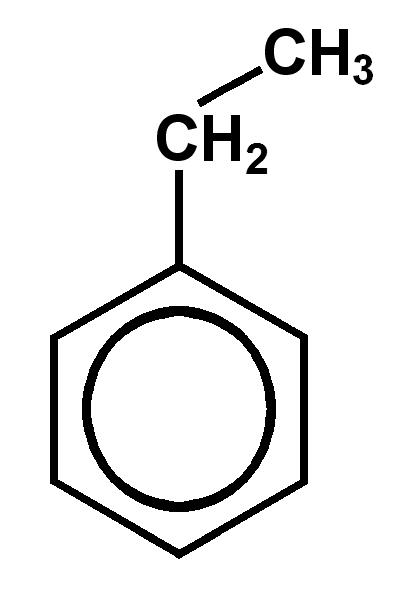 Ethylbenzene removal with ozone