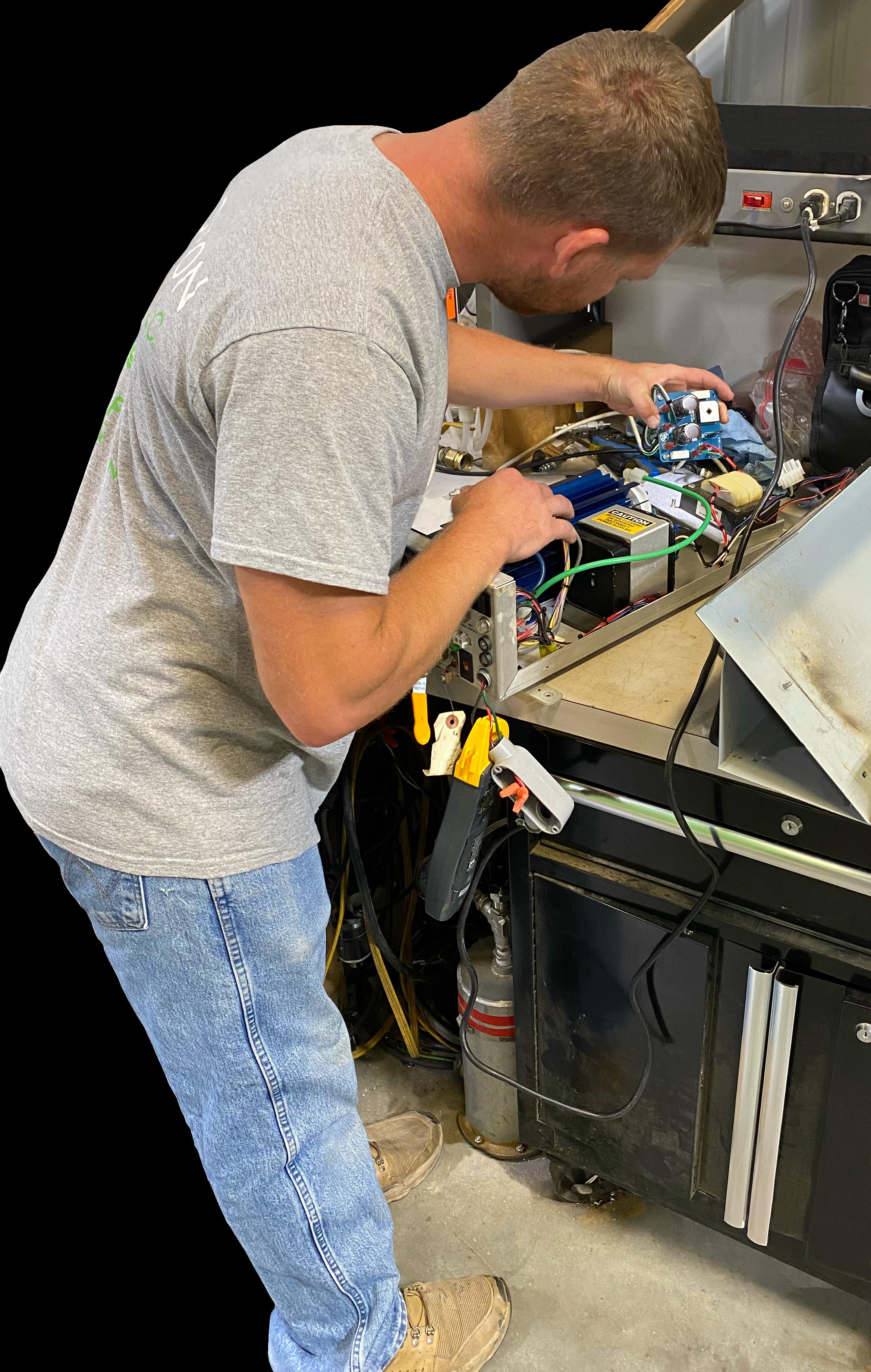 Ozone Equipment Repair