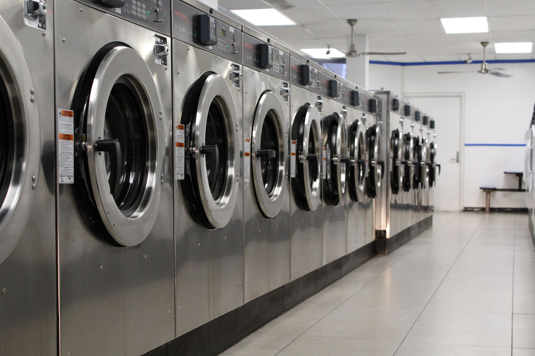 Ozone used for commercial laundry on dairy