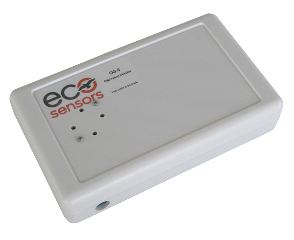 OG-3 Ozone calibration checker for accurate bump testing ozone monitors