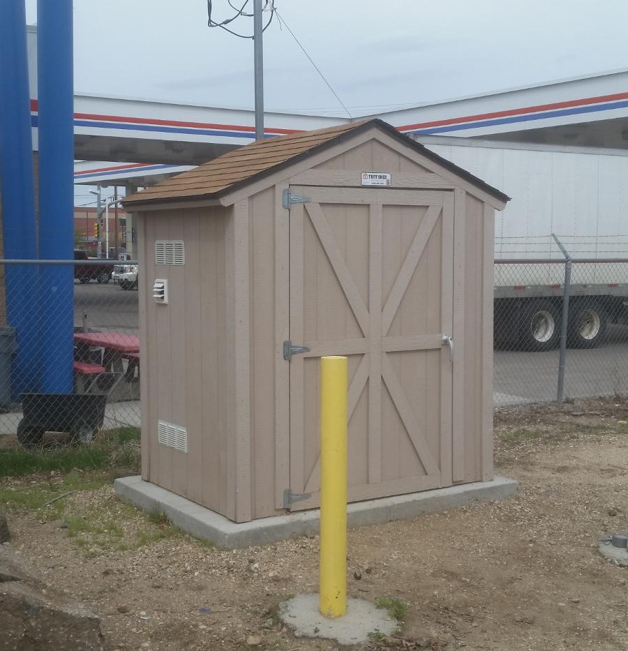 Ozone remediation cabinet