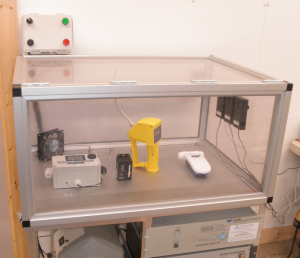 Ozone Monitor calibration chamber