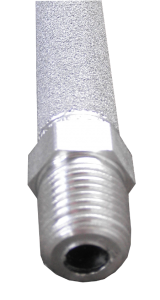 Stainless ozone diffuser with hex nipple
